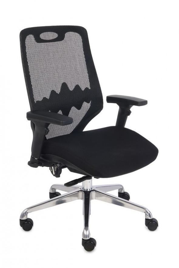 Grospol Fotel biurowy Futura 3 S czarny (TM01) --- OFICJALNY SKLEP Grospol