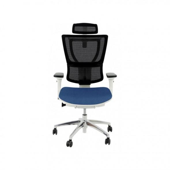 Grospol Fotel biurowy Ioo W B Color Tkanina Cura - 8 kolorów --- OFICJALNY SKLEP Grospol
