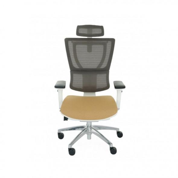 Grospol Fotel biurowy Ioo W B Color Tkanina Medley - 12 kolorów --- OFICJALNY SKLEP Grospol