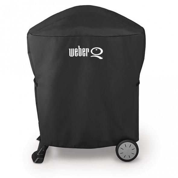 Pokrowiec na grille Weber seria Q 1000 / Q 2000 Stand Premium ( 7120 ) --- CERTYFIKOWANY PARTNER Weber WORLD