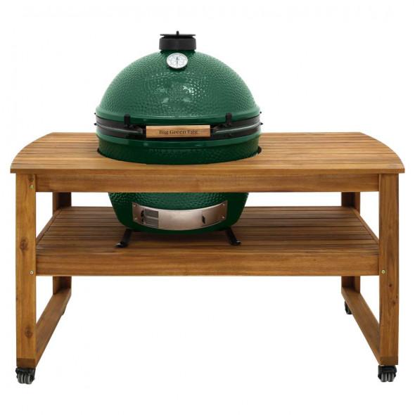 Stół z drewna akacjowego do grilla Big Green Egg XLarge (118264) --- OFICJALNY SKLEP Big Green Egg