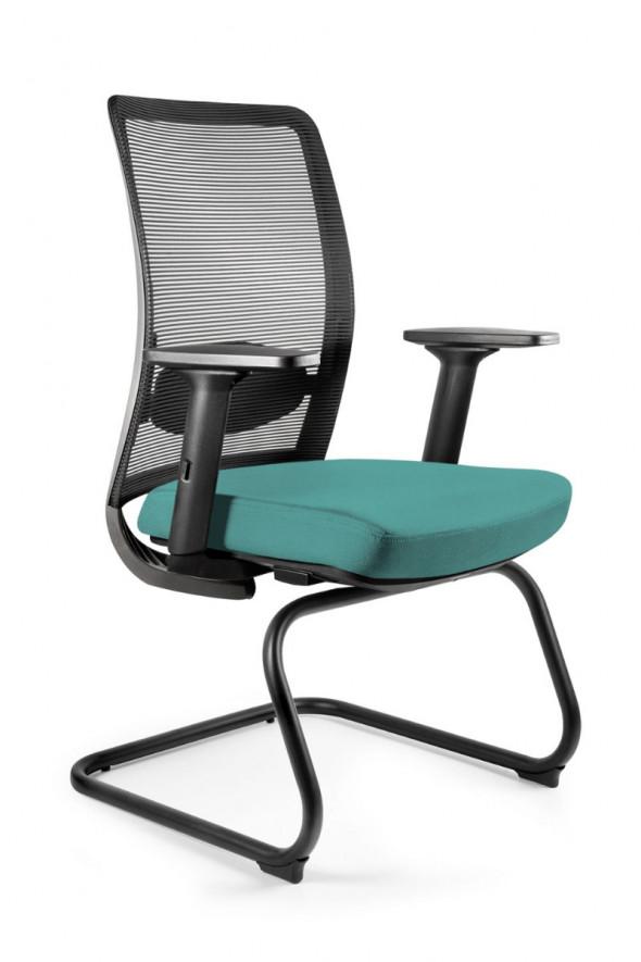 UNIQUE fotel biurowy ANGGUN SKID tkanina różne kolory (1191-B) --- OFICJALNY SKLEP Unique