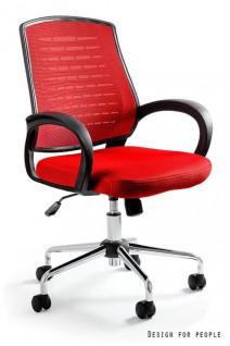 UNIQUE fotel biurowy AWARD czerwony (W-120-2) --- OFICJALNY SKLEP Unique