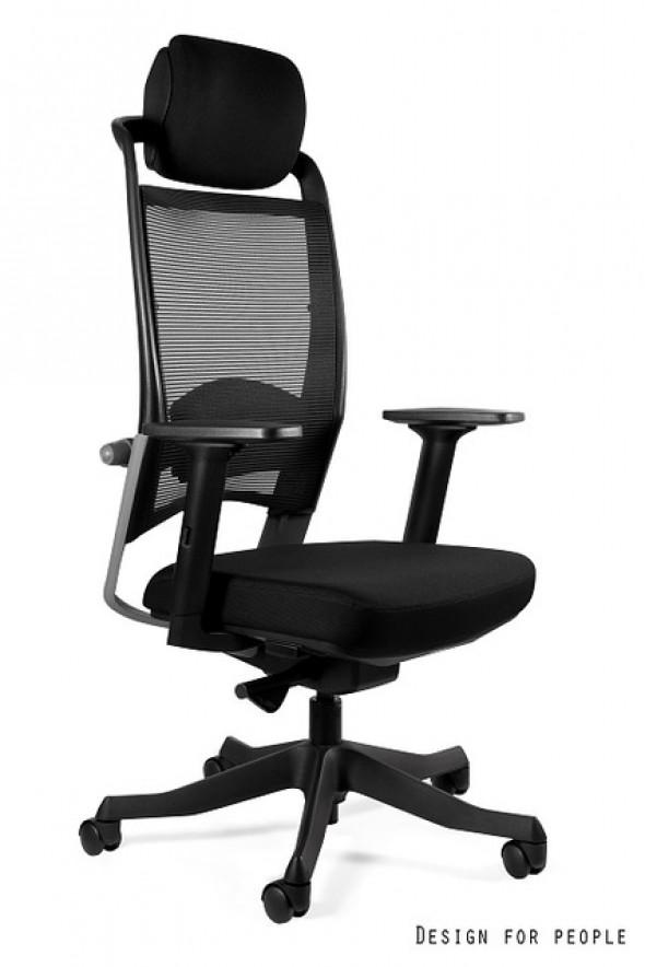 UNIQUE fotel biurowy FULKRUM tkanina różne kolory (P069) --- OFICJALNY SKLEP Unique