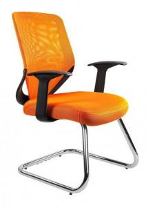 UNIQUE fotel biurowy MOBI SKID pomarańczowy (W-953-5) --- OFICJALNY SKLEP Unique