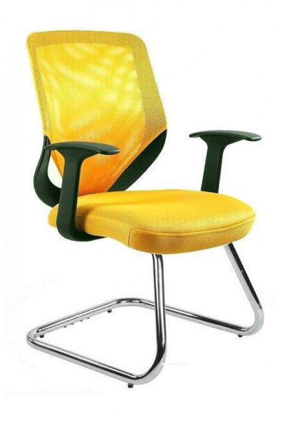 UNIQUE fotel biurowy MOBI SKID (W-953) różne kolory --- OFICJALNY SKLEP Unique