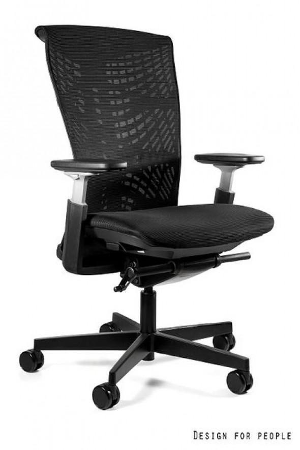 UNIQUE fotel biurowy Reya czarny / czarny (1228BNB-B-RS01) --- OFICJALNY SKLEP Unique