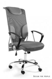 UNIQUE fotel biurowy THUNDER szary (W-58-8) --- OFICJALNY SKLEP Unique