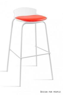 UNIQUE Hoker DUKE biało/czerwony (7-87A-0-2) --- OFICJALNY SKLEP Unique