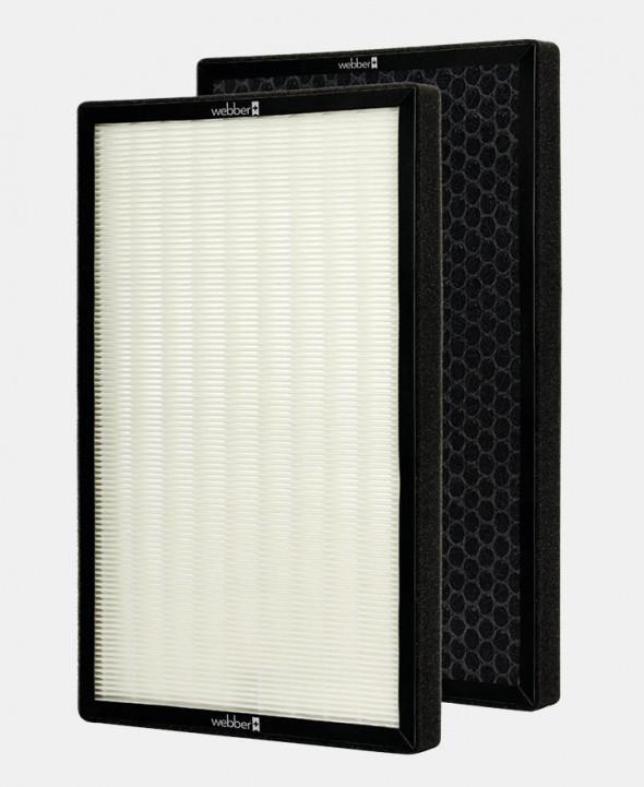 WEBBER Podwójny zestaw filtrów do oczyszczacza powietrza AP9800 HEPA 13 --- OFICJALNY SKLEP WEBBER