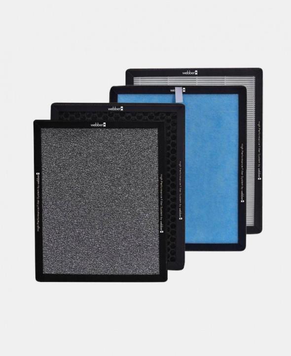 WEBBER Zestaw filtrów do oczyszczacza powietrza AP8300 HEPA 13 --- OFICJALNY SKLEP WEBBER