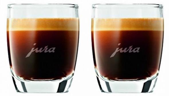 Zestaw dwóch szklanek do espresso Jura (71451) --- OFICJALNY SKLEP Jura