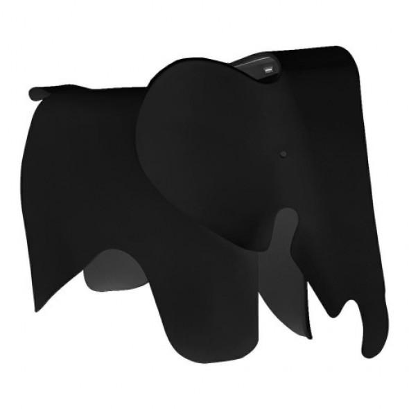Designerski stołek Elephant czarny