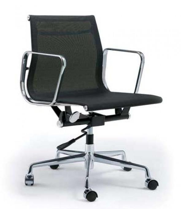 Fotel biurowy CH inspirowany proj. EA117- siateczka