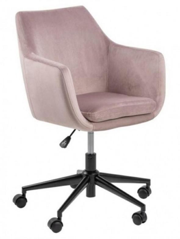 Fotel biurowy Nora VIC różowy