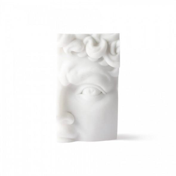 Fragment posągu David polystone