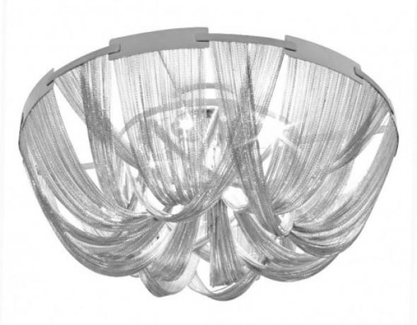 Plafon ATLANTA - aluminium i stal