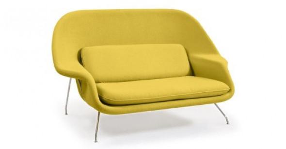 Sofa dwuosobowa - inspirowana proj. Womb