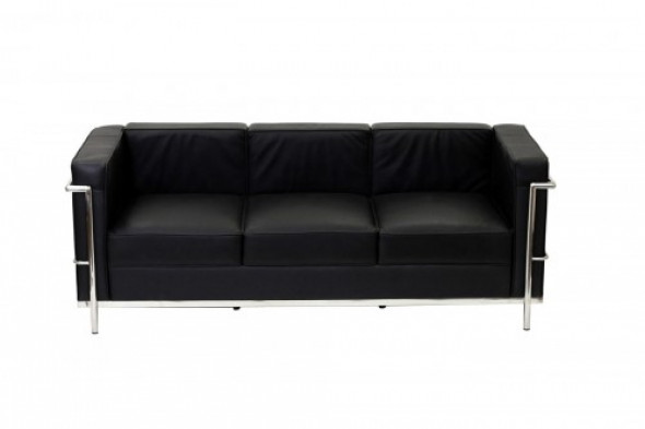 Sofa KUBA II - 3 os. - inspirowana proj. LC2