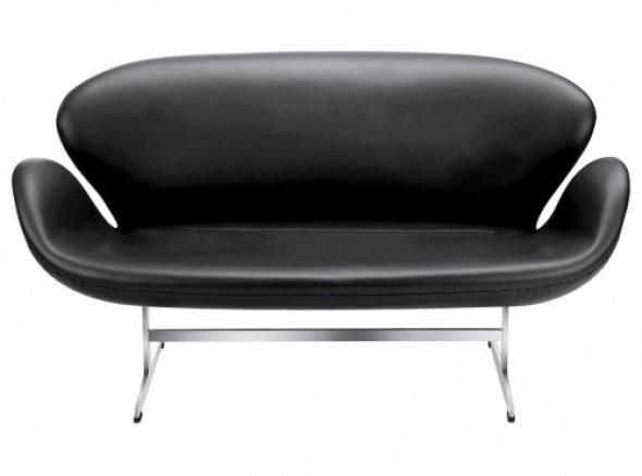 Sofa ŁABĘDŹ - inspirowana proj. Swan Sofa - skóra