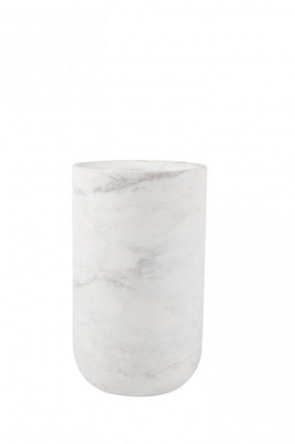 Waza marmurowa Fajen biała