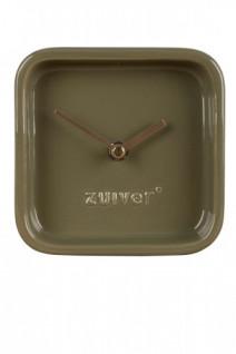 Zegar Cute oliwkowy