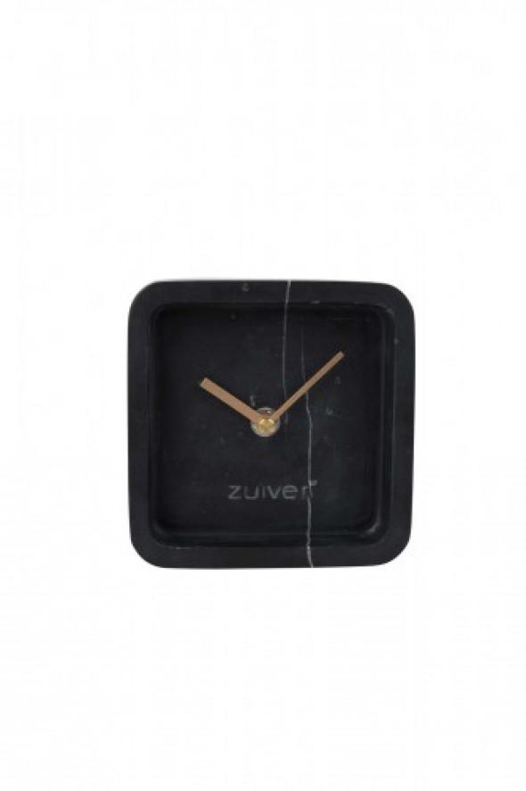 Zegar Luxury Time marmurowy czarny