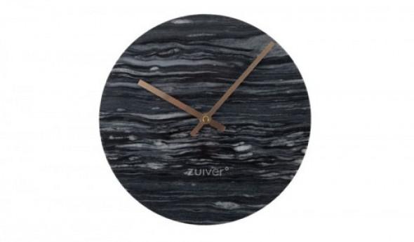 Zegar marmurowy Time szary