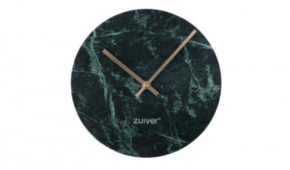 Zegar marmurowy Time zielony