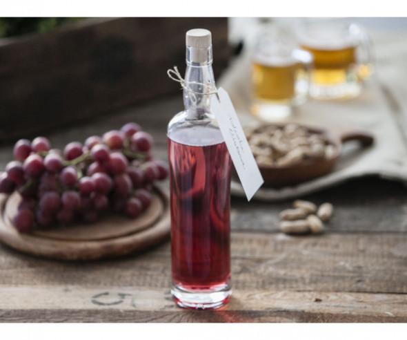 Butelka / karafka do wina i nalewki z korkiem Hrastnik Wallace 700 ml