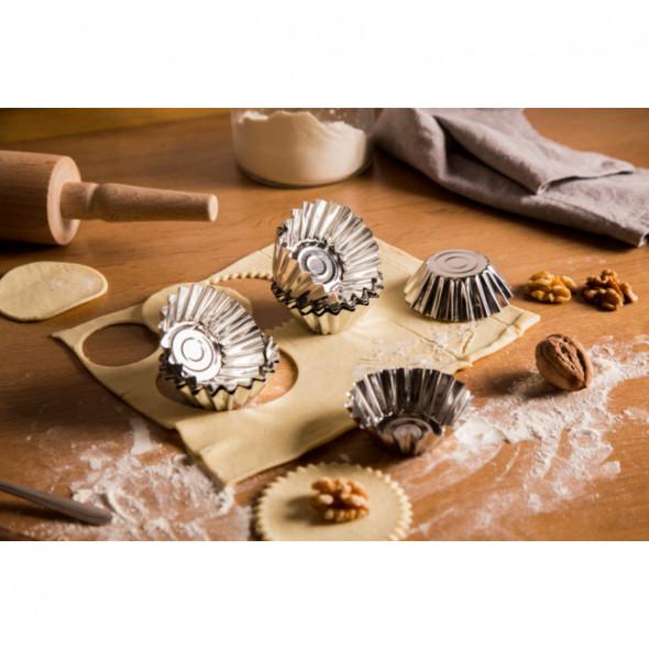 Foremka do pieczenia babeczek i muffinek Tarmex, komplet 10 foremek