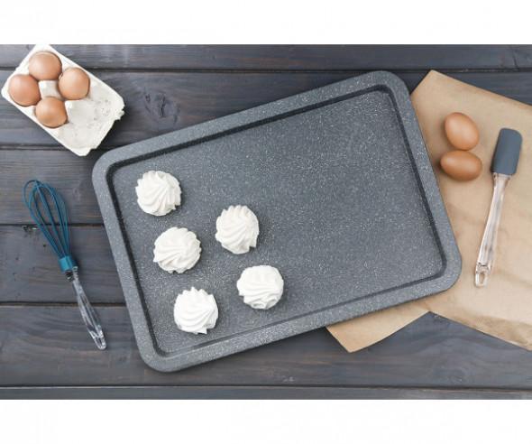 Forma / blacha do pieczenia ciasta niska z powłoką nieprzywierającą 48 x 32 x 2 cm