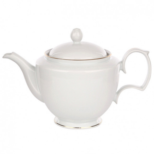 Imbryk do herbaty porcelana MariaPaula Złota Linia 1,2 l