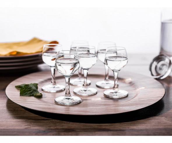 Kieliszki do wódki Altom Design Rubin 40 ml (komplet 6 szt.)