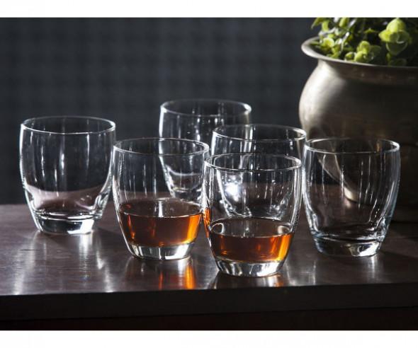 Komplet 6 szt. Szklanki do whisky Hrastnik Drink 340 ml