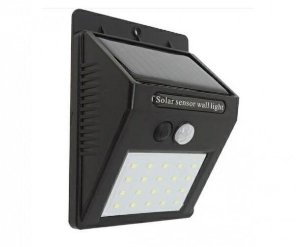 Lampa solarna 20led czujnik xline