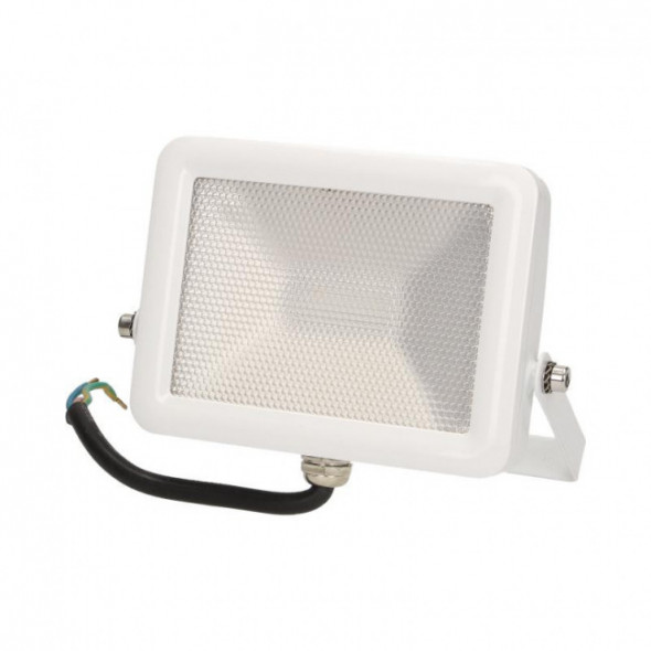 Naświetlacz SLIM LED 10W, srebrny