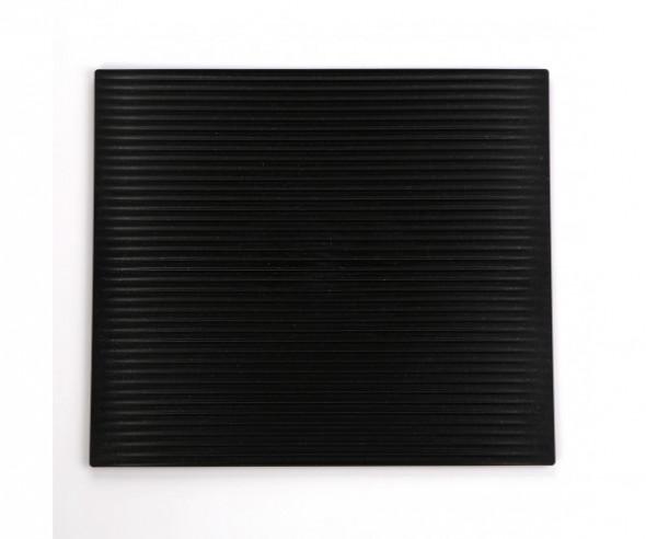 Ociekacz do naczyń na blat kuchenny Flexi Cosmos czarny 45x39 cm