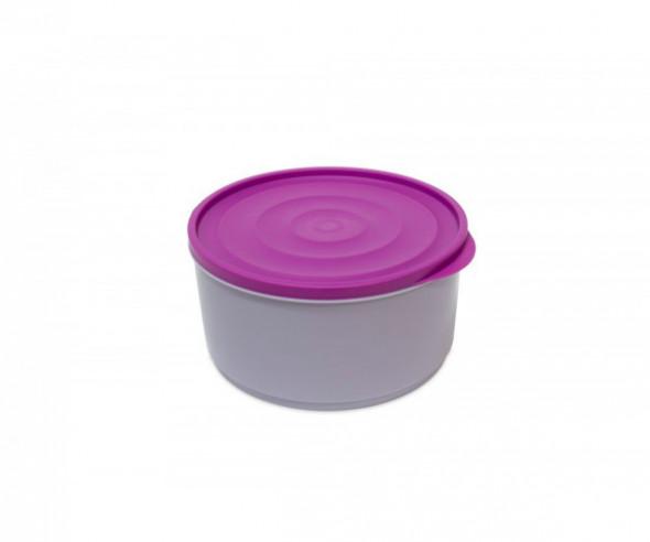Pojemnik do przechowywania żywności Berossi Lana okrągły 1,6 l liliowa mgła