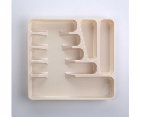 Pojemnik / wkład na sztućce do szuflady Keeeper Pablo kremow