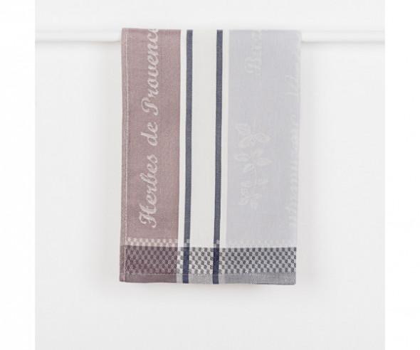 Ścierka kuchenna PROVENCE kolor szary 50x70 cm.