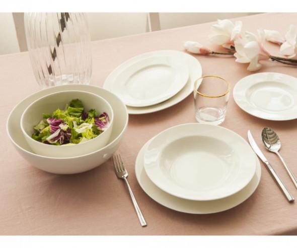 Serwis obiadowy na 6/ 23el. MariaPaula Nova Ecru