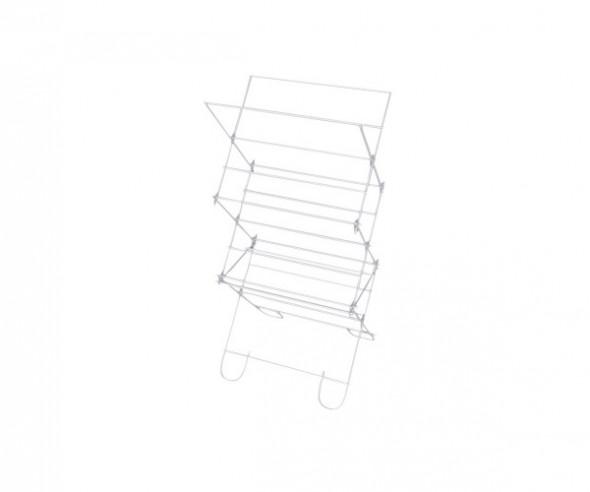 Suszarka na pranie stojąca (brodzikowa) Bocian, biała