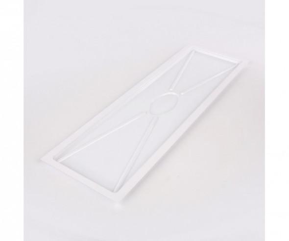 Tacka / ociekacz do suszarki do naczyń Warmel biała prostokątna 80 cm