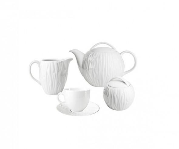 Zestaw kawowy dla 6 osób porcelana MariaPaula Natura (15 elementów)