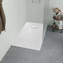 vidaXL Brodzik prysznicowy, SMC, biały, 100 x 70 cm