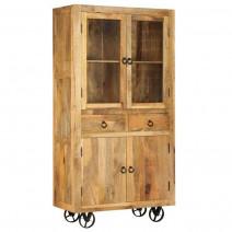 vidaXL Kredens z litego drewna mango, 95 x 45 x 185 cm