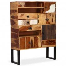 vidaXL Kredens z litego drewna sheesham, 100x30x130 cm
