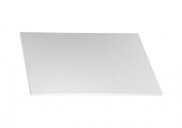 Blat do szafki umywalkowej 80 cm Roca Victoria Basic biały połysk A857504806