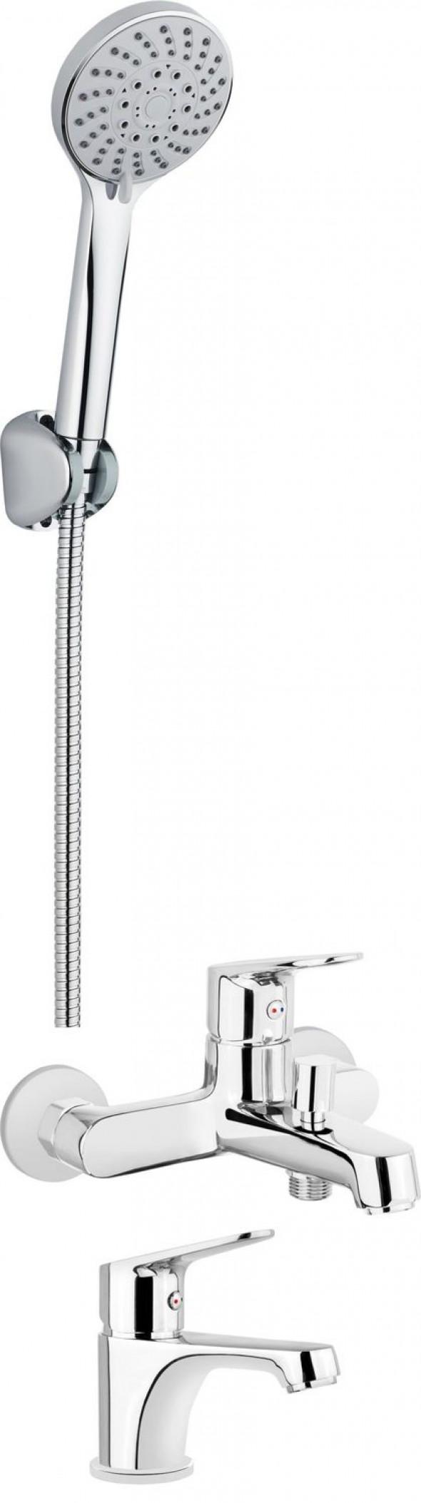 Deante Chaber Komplet łazienkowy wannowy 4w1 BGCC010M
